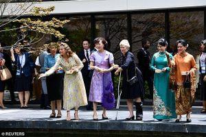Hội nghị G20: Phu nhân, phu quân các lãnh đạo thăm quan chùa ở cố đô Kyoto