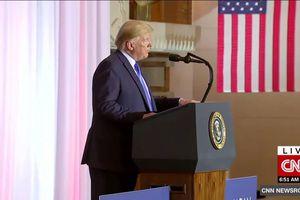 Tổng thống Trump: Tôi sẽ 'rất thoải mái' nếu đặt chân đến Triều Tiên