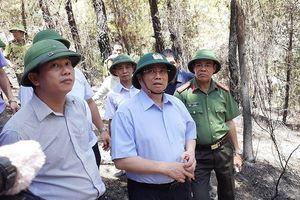 Ông Phạm Minh Chính: Có điều trực thăng chữa cháy rừng không?