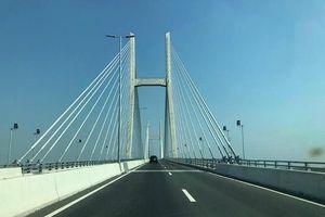 Chủ đầu tư lên tiếng về đường dẫn cầu Vàm Cống nứt