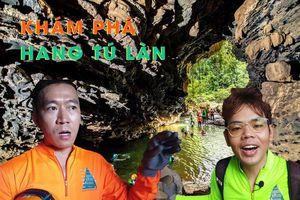 Cùng Oops Banana, Woossi khám phá vẻ đẹp hùng vĩ hang Tú Làn trong 1 ngày