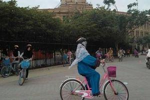 Chiến dịch đạp xe 'vì quyền phụ nữ' ở Pakistan