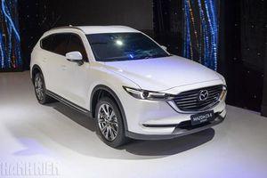 Cận cảnh Mazda CX-8 giá bán từ 1,149 tỉ đồng tại Việt Nam