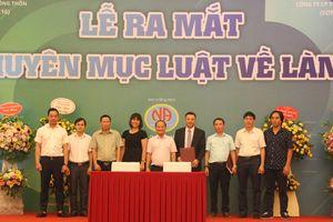 Kênh VTC16 ra mắt chuyên mục 'Luật về làng'