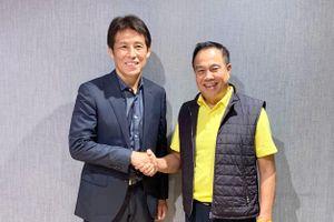 Nửa đêm, ĐT Thái Lan bổ nhiệm tân HLV trưởng người Nhật