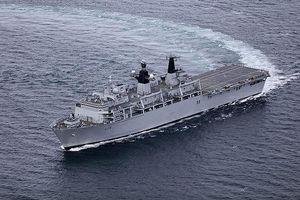 Tàu trinh thám Nga theo dõi hải quân Anh tập trận ở Baltic