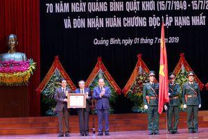 Phó Thủ tướng Thường trực dự kỷ niệm 30 năm tái lập tỉnh Quảng Bình