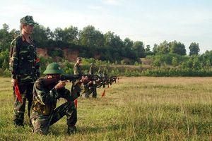 Chú trọng huấn luyện lực lượng dự bị động viên