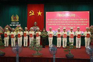 Thừa Thiên - Huế điều động 160 Công an chính quy đảm nhiệm các chức danh Công an xã