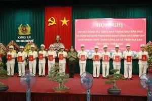 Thừa Thiên Huế điều động 160 cán bộ, chiến sĩ công an chính quy về xã