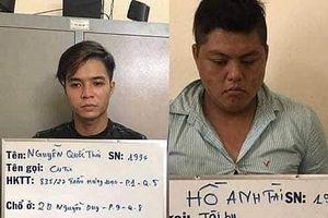 TP HCM: Bắt băng cướp giật táo tợn