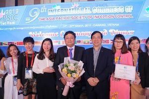 Bệnh viện đầu tiên ở Việt Nam đạt chứng nhận xuất sắc về khử khuẩn dụng cụ y tế