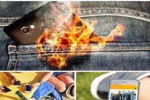 Dùng điện thoại vào mùa nắng nóng coi chừng cháy nổ bất ngờ