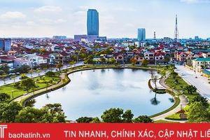 Thành phố Hà Tĩnh 'nâng chất' các tiêu chí đô thị