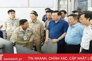 Nhà máy điện mặt trời đầu tiên ở Hà Tĩnh đi vào hoạt động