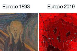 Bật cười trước những cách giải nhiệt độc đáo ở Châu Âu