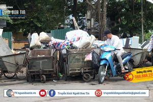Hà Nội: Cần dẹp bỏ các bãi tập kết rác làm mất mỹ quan đô thị