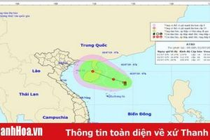 Áp thấp trên Biển Đông, Thanh Hóa có mưa trong những ngày tới