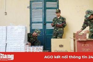 Hiệu quả công tác chống buôn lậu thuốc lá trên tuyến biên giới An Giang