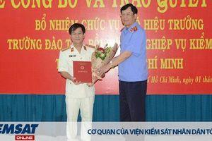 Trường Đào tạo bồi dưỡng nghiệp vụ kiểm sát tại TP Hồ Chí Minh có Phó Hiệu trưởng mới