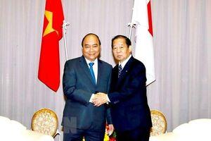 Thủ tướng Nguyễn Xuân Phúc và bạn bè Nhật Bản ôn lại lịch sử hơn 1.000 năm tình hữu nghị