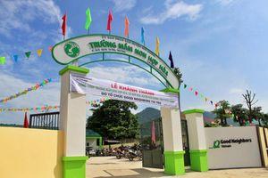 Tổ chức GNI hỗ trợ 6, 5 tỷ đồng xây dựng ngôi trường thứ 37 tại Việt Nam