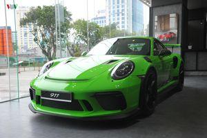 Khám phá Porsche 911 GT3 RS màu xanh Lizard Green 'độc' nhất Việt Nam