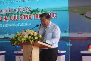 Quảng Ngãi: Khởi công Đập dâng hạ lưu sông Trà Khúc
