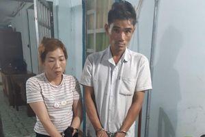 Thấy công an, 2 nghi phạm ma túy bỏ trốn