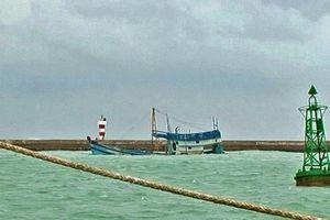 Tàu chở hơn 70 nghìn lít dầu DO chìm ở Phú Quý