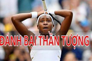 'Venus Williams 2.0' 15 tuổi gây sốc khi đánh bại bản chính tại Wimbledon
