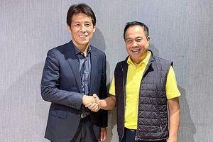 Đội tuyển Thái Lan có huấn luyện viên mới