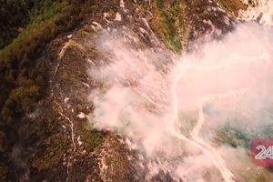 Hình ảnh từ trên cao những thiệt hại mà vụ cháy rừng tại Hà Tĩnh gây ra
