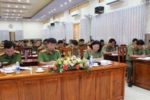 Công an tỉnh Kiên Giang triển khai nhiệm vụ công tác 6 tháng cuối năm