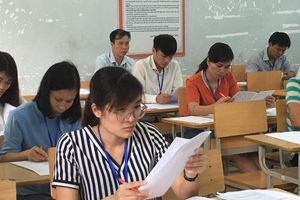 Chấm thi THPT quốc gia: Không có nhiều điểm cao môn Ngữ văn