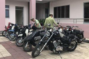 Bình Dương: Phát hiện hàng chục xe máy nghi nhập lậu