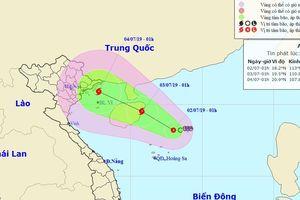 Bộ Công an chỉ đạo ứng phó với áp thấp trên biển Đông và mưa lũ