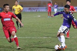 Vòng 14 V-League 2019: Tiêu điểm Hải Phòng vs Hà Nội FC trên sân Lạch Tray