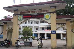 Hà Tĩnh: Trẻ sơ sinh tử vong do đứt cổ, Sở Y tế Hà Tĩnh yêu cầu báo cáo