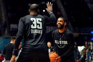 Kyrie Irving, Kevin Durant lập 'đế chế' mới tại Brooklyn Nets