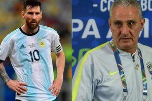 HLV Brazil mất ngủ để tìm cách 'vô hiệu hóa Messi'