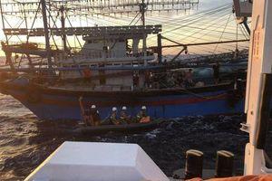 Chìm tàu trên biển Hải Phòng: Tạm dừng tìm kiếm do áp thấp nhiệt đới