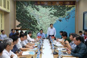 Áp thấp nhiệt đới đang hướng vào vùng biển Quảng Ninh - Hà Tĩnh
