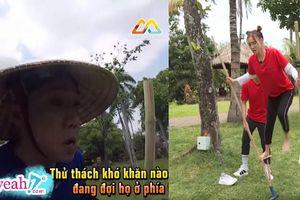 Trấn Thành, Lan Ngọc khổ sở với thử thách đi cà kheo, BB Trần hóa thân thành mèo bắt chuột tại 'Chạy đi chờ chi'