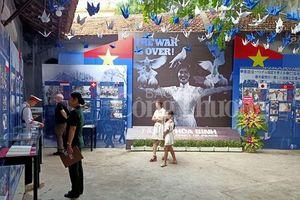 Mở cửa trưng bày chuyên đề: 'Nhật ký hòa bình' tại di tích Hỏa Lò