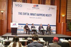 EuroCham, VCCI và doanh nghiệp hỏi đáp 'nóng' về EVFTA