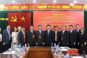 Ủy ban Dân tộc tiếp Đoàn đại biểu Ban Dân tộc và Tôn giáo Khu Tự trị dân tộc Choang, Quảng Tây, Trung Quốc