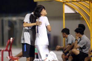 U17 Quốc gia 2019: Cầu thủ gãy xương quai xanh, U17 HAGL thua trận mở màn
