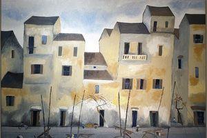 Ngắm những bức tranh đắt khách của họa sĩ Nguyễn Trịnh Thái