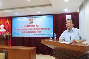 Phát huy vai trò những điển hình tiên tiến trong phong trào thi đua yêu nước của người Công giáo Việt Nam